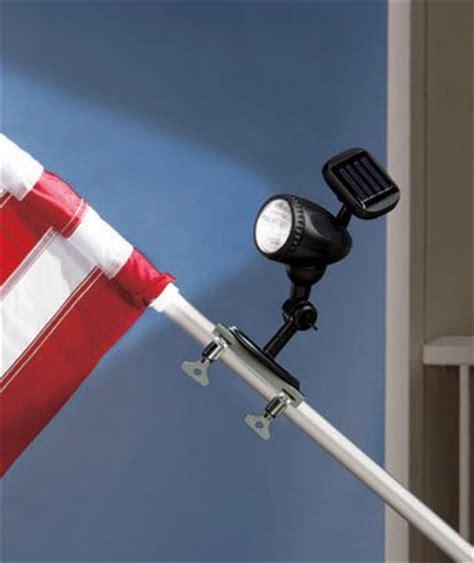 telescoping flagpole with solar light solar led flag pole light