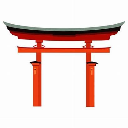 Torii Gate Japan Japanese Silhouette Japon Arch