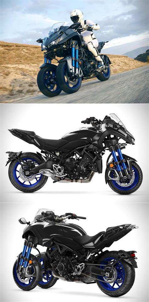 Yamaha Niken Image by Futuristic Yamaha Niken Is A Three Wheeled Motorcycle