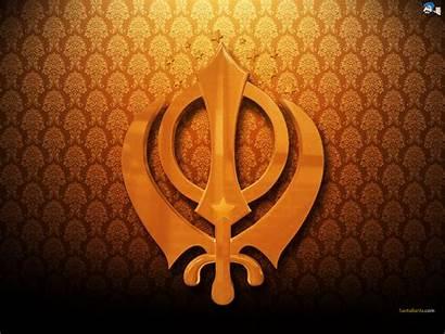 Sikh Symbols Sikhism Wallpapers Khanda Khalsa Santabanta