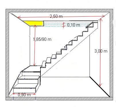 aide calcul escalier avec palier 35 messages