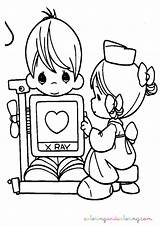 Coloring Moments Nurse Pages Precious Sheets Printable Colouring Books Clipart Digi Children Stamps Nursing Template Doctor Bible Sketch Adult Well sketch template