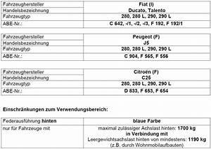 Fiat Ducato 280 Ersatzteile : zusatzschraubenfedern f r die ~ Jslefanu.com Haus und Dekorationen