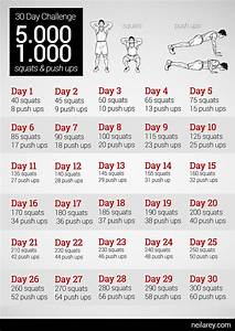 30 Tage Fitness : worth a try 5000 squats 1000 push ups 30 day challenge why not fitness bung bungen ~ Frokenaadalensverden.com Haus und Dekorationen