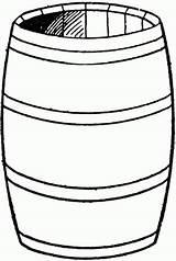 Barrel Clipart Clip Cracker Drum Cliparts Clipartmag Library sketch template