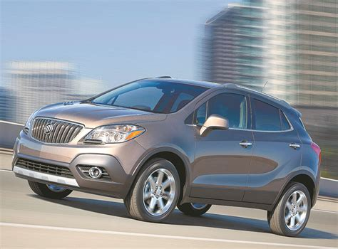 Buick Small Crossover by Compact Buick Encore Crossover Offers Style Comfort