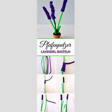 Pfeifenputzer Blumen Basteln Einfache Diy Anleitung Für