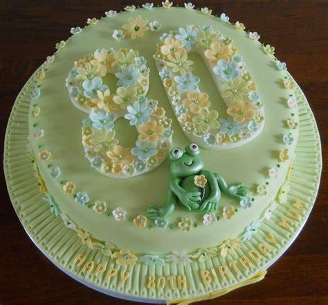 birthday cake  flowers   cute frog