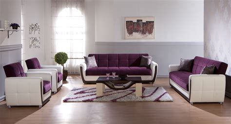 Purple Living Room Accessories For Balance And Fresh