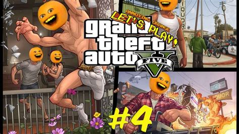 annoying orange plays gta  youtube