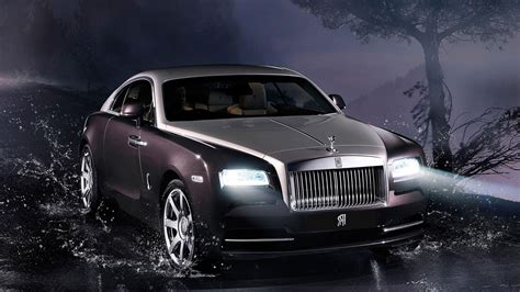 2014 Rolls Royce Wraith 3 Hd Desktop Wallpaper