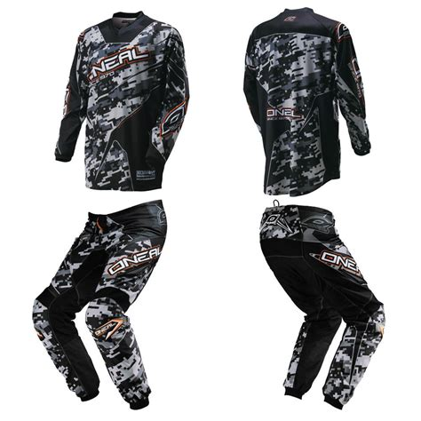 motocross gear oneal element digi camo black motocross off road dirtbke