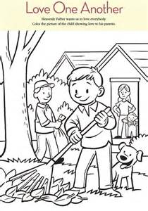 lds coloring pages one another coloring home