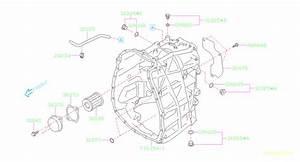 2012 Subaru Impreza Filter Assembly-auto Transmission Fluid  Case  Fitting