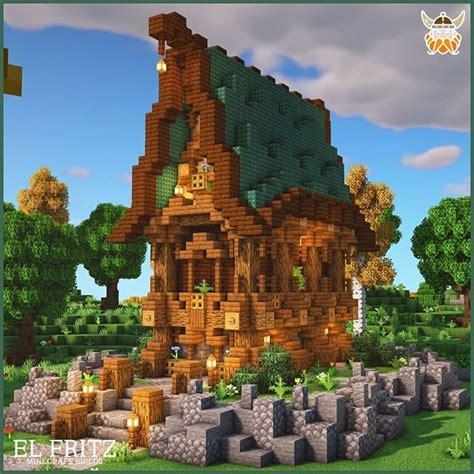 atelfritzbuilder  instagram fantasy prismarine house attention