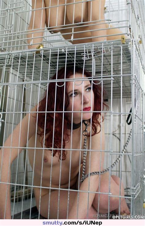 Bdsm Bondage Collar Leash Collarandleash Chain Cage