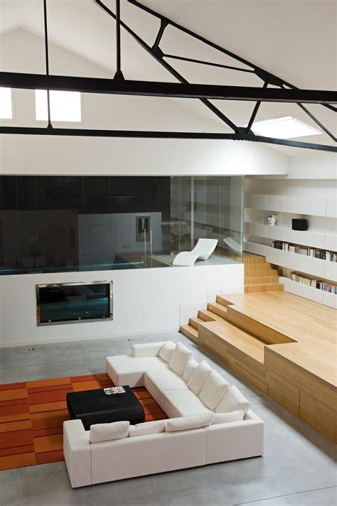 Industrial Meets Refined In A Loft In A Former Garage industrial meets refined in a loft in a former garage