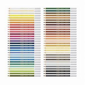 Des Couleurs Pastel : crayon de couleur pastel aquarellable carbothello stabilo chez rougier pl ~ Voncanada.com Idées de Décoration
