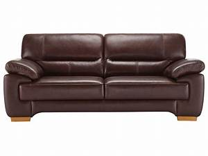 clayton 3 seater sofa in brown leather oak furniture land With sectional sofa furnitureland south