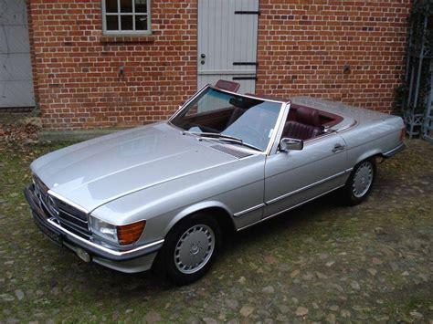 auto kaufen mercedes mercedes 560 sl mercedes 560 sl roadster 1986