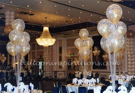 wedding balloon decorations ivory and gold balloons