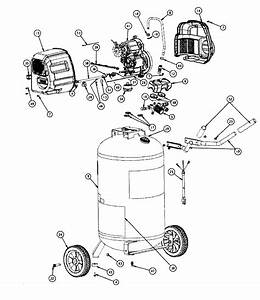 Craftsman Model 921165720 Air Compressor Genuine Parts