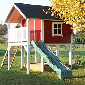 spielhaus bauanleitung baue das eigene spielhaus With französischer balkon mit baumhaus garten kinder