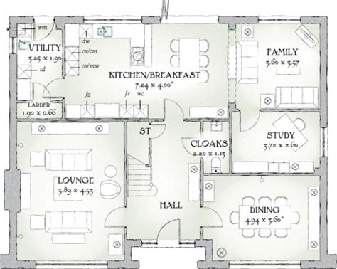 redrow homes  highgrove floorplan google search house layout plans redrow homes house