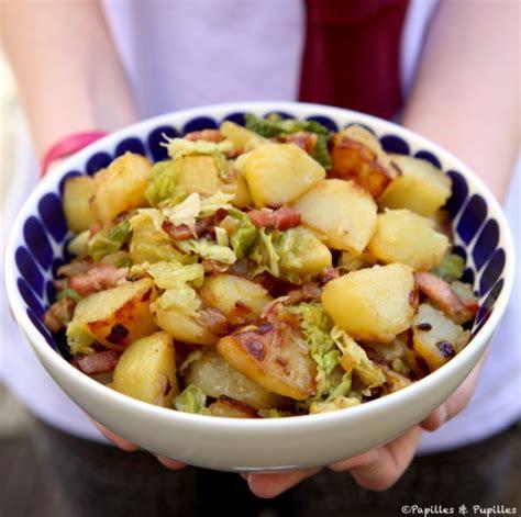 cuisiner chou vert cuisiner chou vert poêlée de pommes de terre sautées et