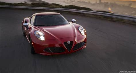 Alfa Romeo Usa 2014 by Alfa Romeo 4c I Nuovi Fari Debuttano Sulla Versione Usa