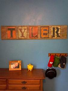 17 best images about metal tin on pinterest love signs With rustic metal letters hobby lobby
