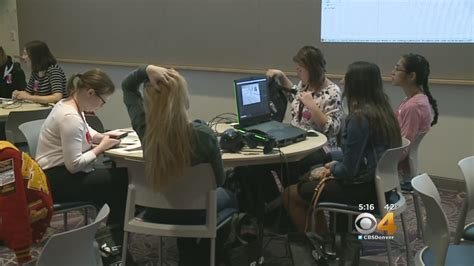 'bring Stem To Life' Inspires Girls To Explore Science, Technology, Math Outside Classroom « Cbs