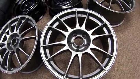 Stealth Charcoal (flat Gunmetal) Powder Coated Wheels