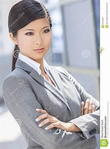 Asiatische Frauen Eigenschaften : sch ne asiatische chinesische frau oder gesch ftsfrau stockbild bild von l cheln attraktiv ~ Frokenaadalensverden.com Haus und Dekorationen