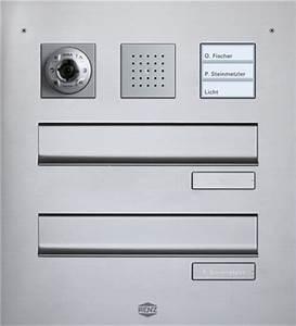 Briefkasten Mit Kamera : sprechanlagen elektro schaperdoth ~ Frokenaadalensverden.com Haus und Dekorationen