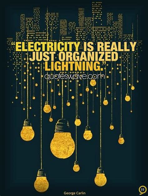 electricity    organized lightning george