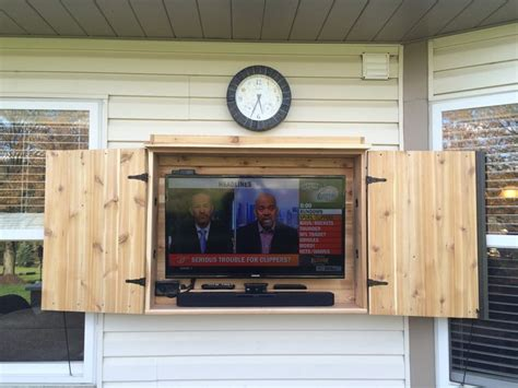 Best 25+ Outdoor Tv Cabinets Ideas On Pinterest