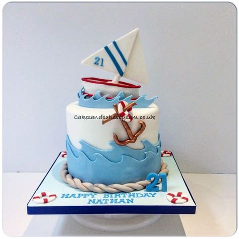 Sailing Boat Cake by 25 Best Ideas About Boat Cake On Pinterest Sailboat