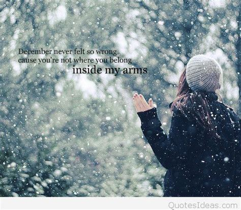 awesome december winter quotes sayings  images