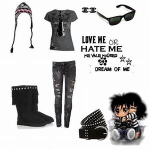 emo outfits | Emo Look For School :) - Avenue7 - Express ...