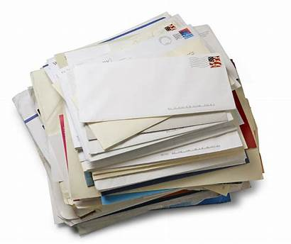 Mail Piece Letters Mailing Stack Return Ways