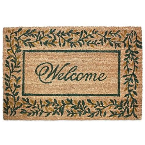 welcome home doormat buy welcome home mat from bed bath beyond