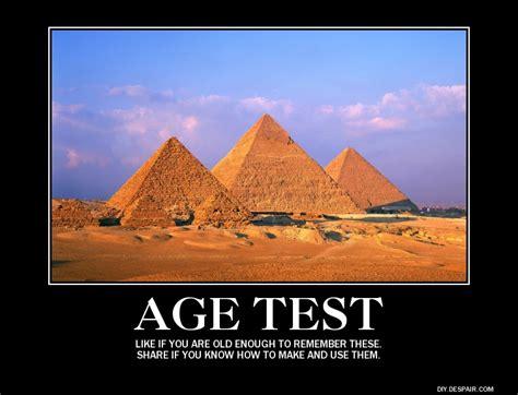 Age Meme - age test age test know your meme