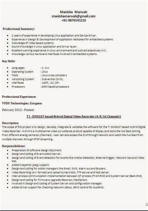 four types of resumes best resume gallery