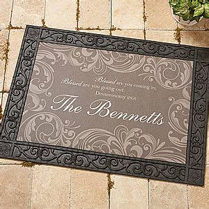 Religious Doormats by Personalized Doormat 18x27 Family Blessings Christian
