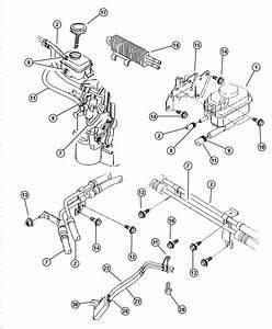 Chrysler Sebring Hose  Power Steering Reservoir  Power