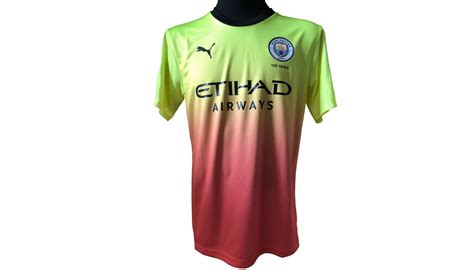 De Bruyne's Match Shirt, Preston-Man City 2019 - CharityStars
