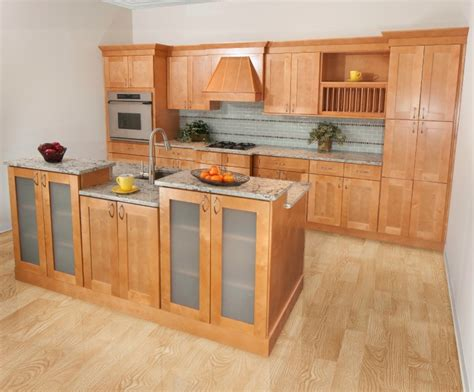 honey shaker kitchen cabinets shaker honey ready to assemble kitchen cabinets 4325