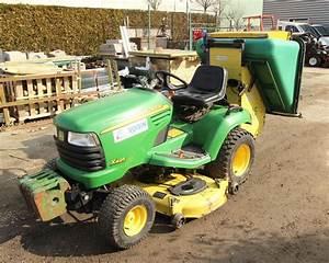 Bac De Ramassage Tracteur Tondeuse : tondeuse autoportee john deere x495 d 2 rm ~ Nature-et-papiers.com Idées de Décoration