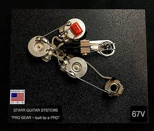 Wiring Harness Upgrade For Gibson Flying V  58 And 67  New